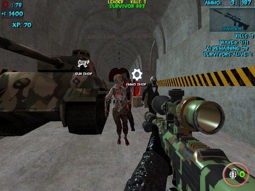 Play Zombie Apocalypse Bunker Survival Z Game