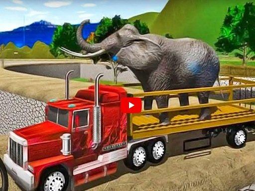 Play Animal Simulator Truck Transport 2020 Game