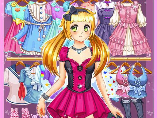 Play Anime Kawaii Dress Up Game