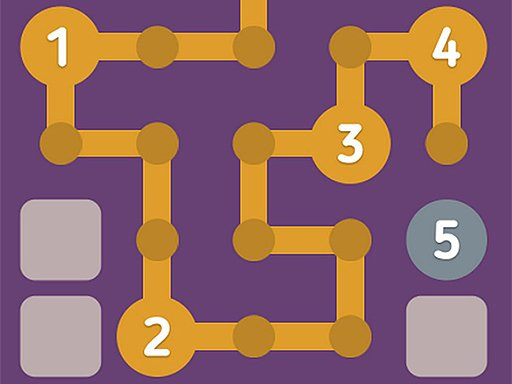 Play Number Maze Puzzle Online Game