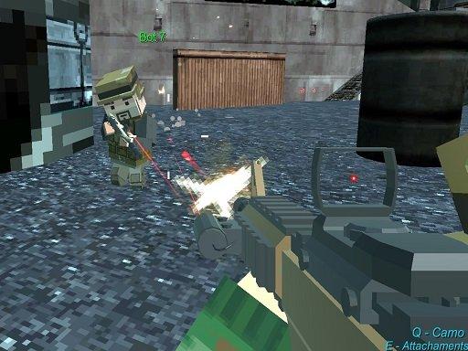 Play Pixel Gun Arena Prison Multiplayer Game