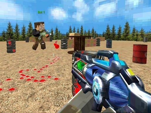 Play PaintBall Fun Shooting Multiplayer Game