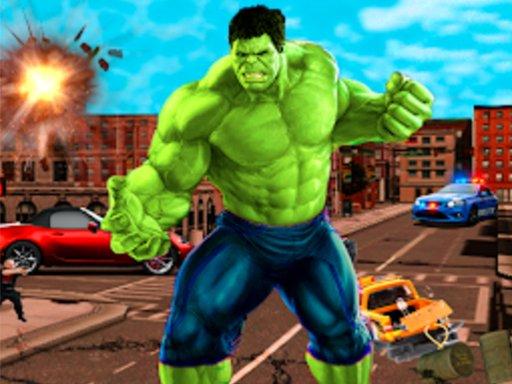 Play Incredible City Monster Hunk Hero Survival Game