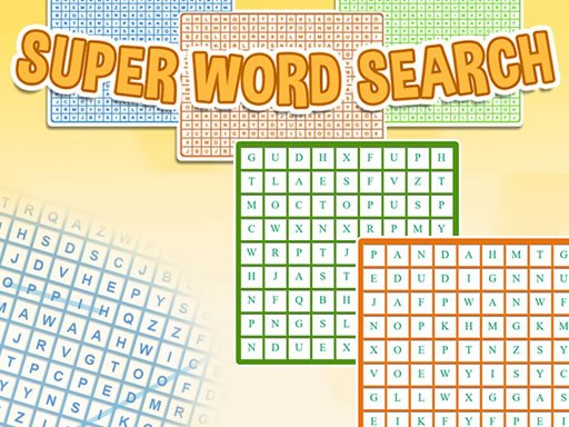 Play Super Word Search Game