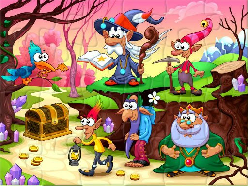 Play Fantasy Jigsaw Deluxe Game