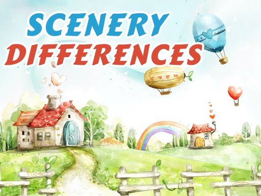 Play Fantasy Scenery Differences Game