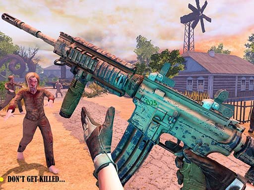 Play Dead Warfare Zombie Shooting Game