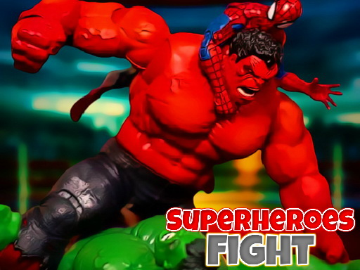 Play Superheroes Fight Game