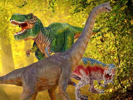 Play World of Dinosaurs Jigsaw Game