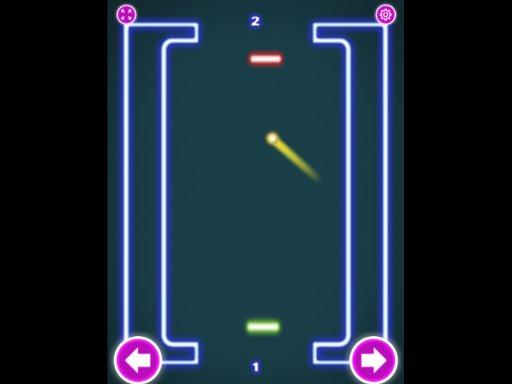 Play Pong Neon Game