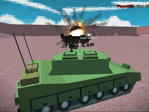 Play Helicopter And Tank Battle Desert Storm Multiplayer Game
