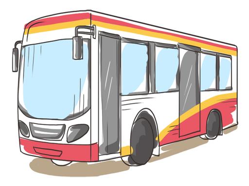 Play Cartoon Bus Slide Game