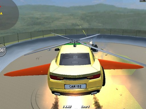 Play Supra Crash Shooting Fly Cars Game