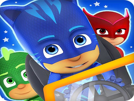 Play PJ Masks: Superhero Cacing Game