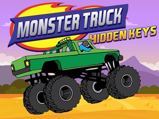 Play Monster Truck Hidden Keys Game