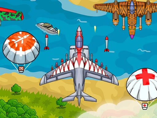 Play Air Force Attack Game
