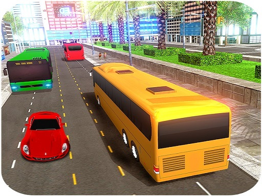 Play Coach Bus Driving Simulator Game