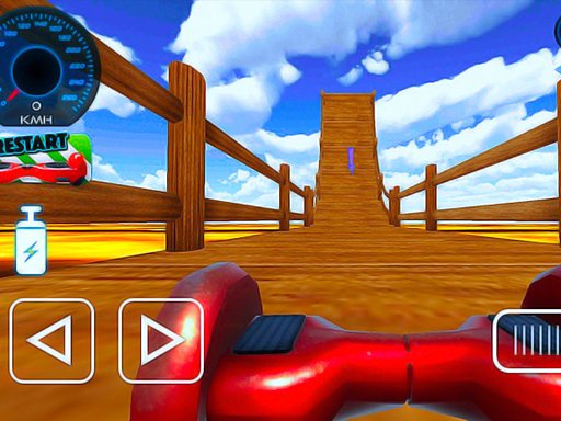 Play Hoverboard Stunts Hill Climb Game
