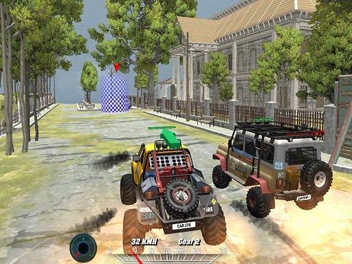 Play Offroad Monster Truck Forest Championship Game