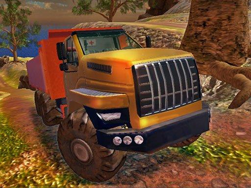Play OffRoad Truck Simulator Hill Climb Game