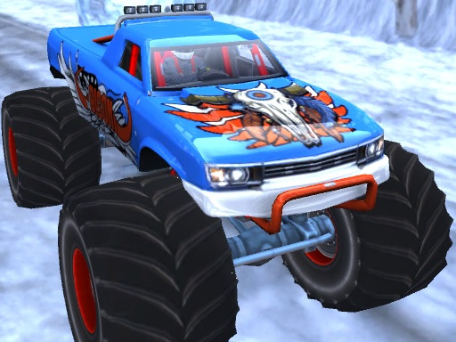 Play Winter Monster Truck Game