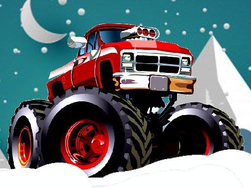 Play Winter Monster Trucks Race Game