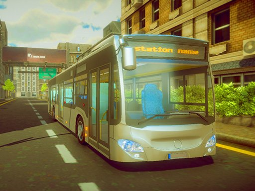 Play Town Bus Driver Game