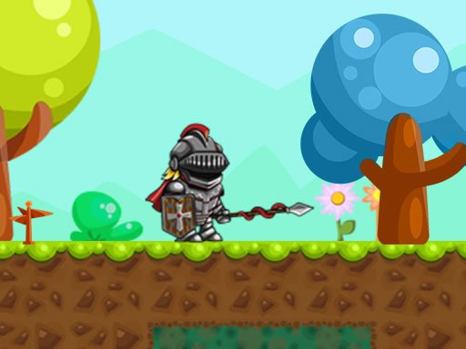 Play Super Knight Adventure Game