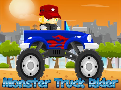 Play Monster Truck Rider Game