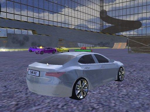 Play Xtreme Racing Car Crash Game