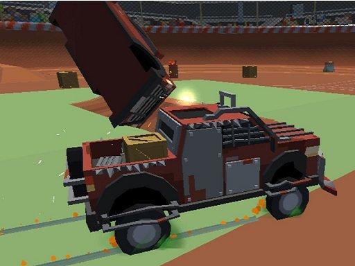 Play Pixel Car Crash Demolition v1 Game
