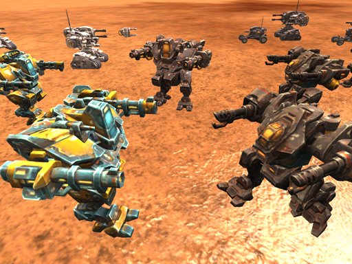 Play Mech Battle Simulator Game