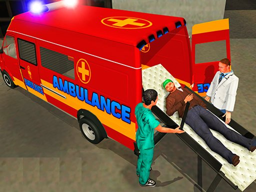 Play Ambulance Rescue Driver Game