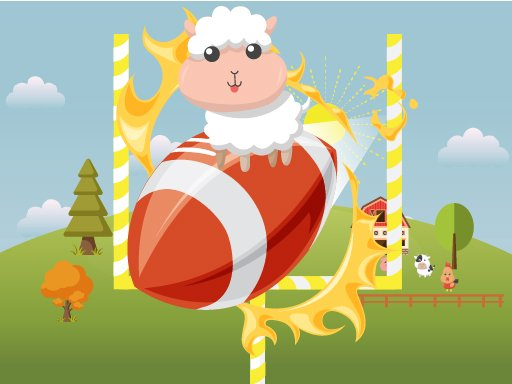 Play Animals Rugby Flick Game