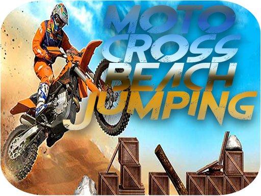 Play Motocross Beach Jumping Game