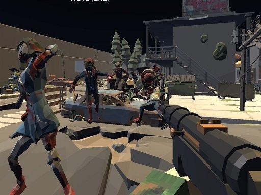 Play Zombie Virus FPS Game