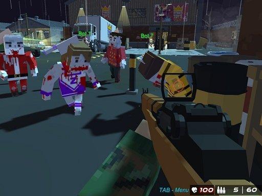 Play GunGame 24 Pixel Game
