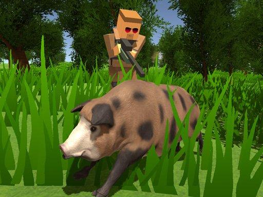 Play Pixel Hunting.IO Game