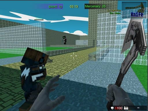 Play Pixel Fps SWAT Command Game