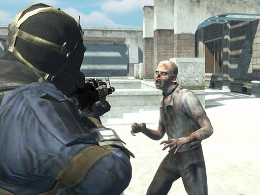Play Zombie Defence Team Game
