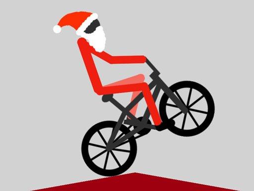 Play XMAS Wheelie Game