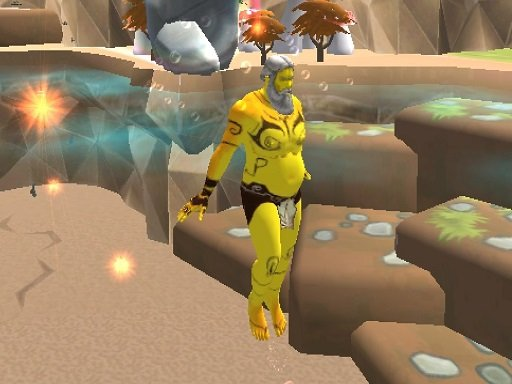 Play Aqua Man Sea Fight Game