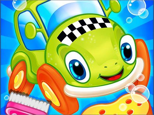 Play Sports Car Wash Gas Game