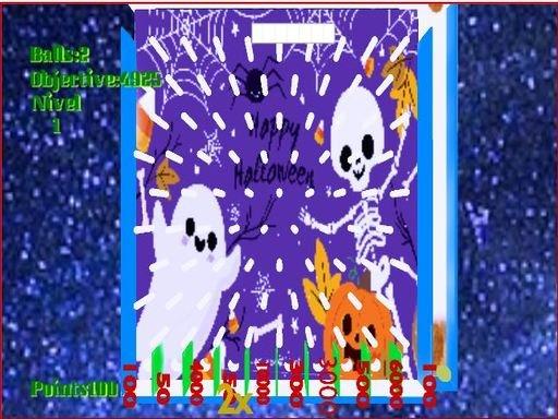 Play Pinball Halloween Game