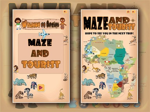 Play Maze And Tourist Game