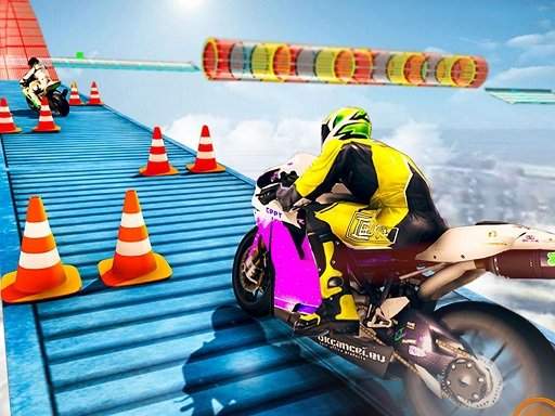 Play Moto Rider: Impossible Track Game