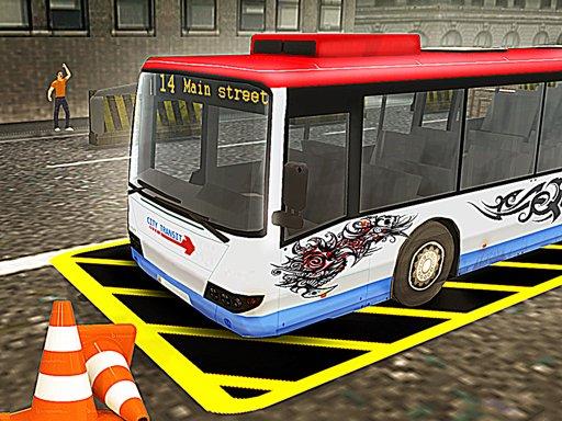Play Bus Parking Simulator Game