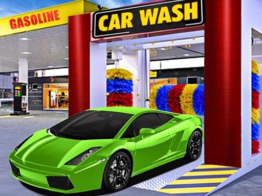 Play Car Wash & Gas Station Simulator Game