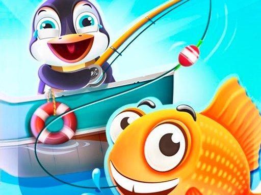 Play Penguin Deep Sea Fishing Game