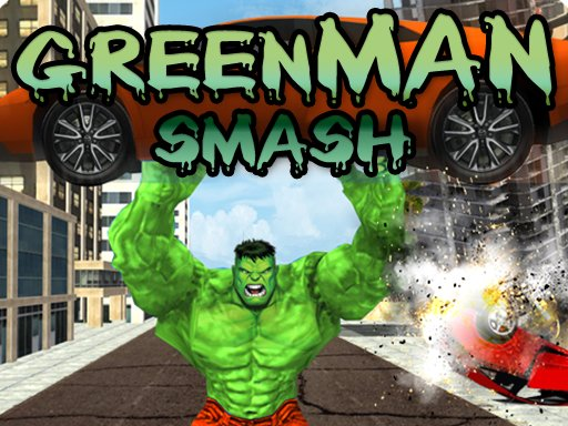 Play Green Man Smash Game